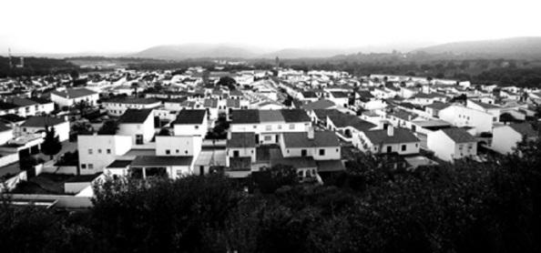 Nuevo Castellar, pueblo de colonización construido entre 1968 y 1971