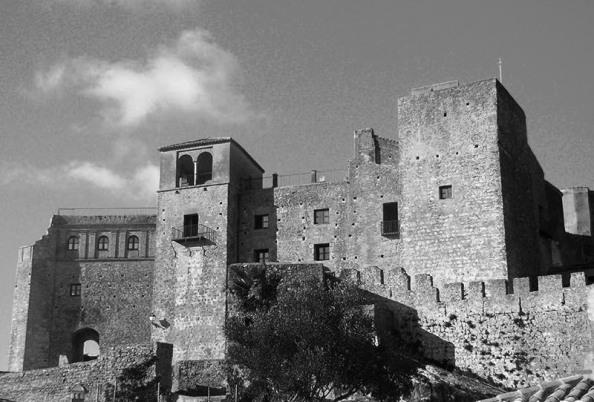 La Alcaaba del Castillo de Castellar, Palacio residencial de los Condes de Castellar