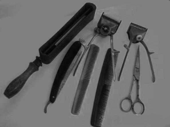Herramientas de la barbería. Fuente: El Blog de Tuico.