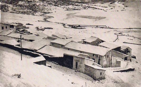 Calle Ceniza y calle Llanete. Año 1954. Fuente: Ediciones OBA.