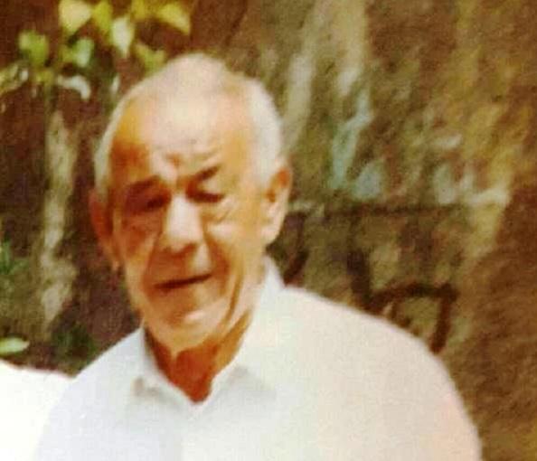 Carrión ya jubilado y en vísperas de que le diera el infarte: Familia Carrión Macías.