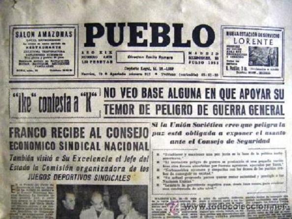 Diario `Pueblo´. Fuente: