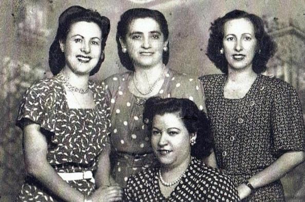 Peinados de estas jimenatas en el año 1939. Fuente: Ediciones OBA.