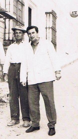 El maestro, Andrés Sarrias.