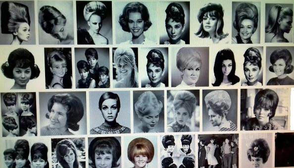 Las nuevas tendencias de moda de peinados femeninos en la década de los sesenta del siglo XX. Fuente: Google