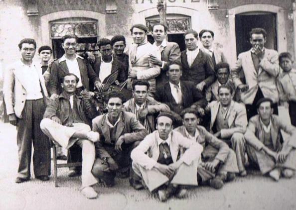 Quinta 1946 en Cádiz. Fuente: Ediciones OBA