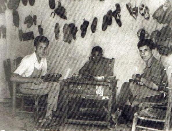 Zapatería en Jimena. Fuente ediciones Oba.
