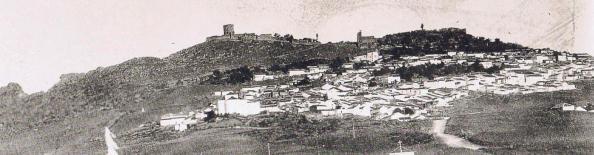 El aqcceso a Jimena cuando la familia del médico Lastres, llegó en 1945. Fuente: Ediciones OBA.