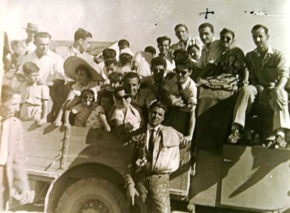 1947 corrida de toros estación de jimena