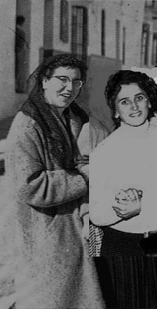 Ángeles y Anita que no pudieron ver. Fuente: OBA