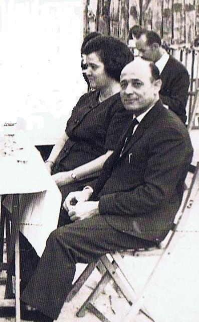 Bartolo Macias y Maria Sanchez, los padres de Jose Maria a los que le hicimos la trastada. Fuente, Ediciones OBA.