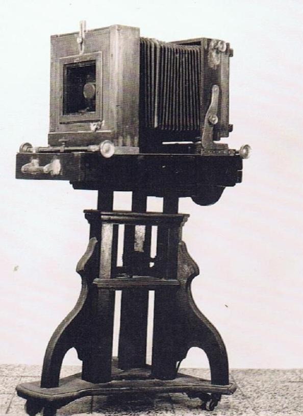 Máquina de fotos que pudo emplear