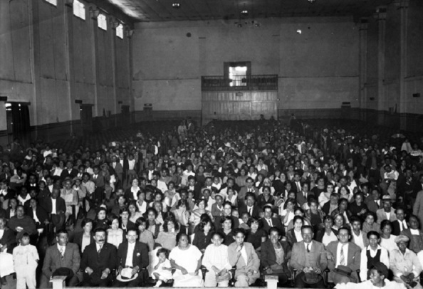 Público en una sala de cine. Autor