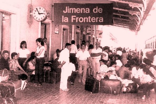 La emigración jimenata con destino al norte de España y a los países europeos. Fuente, Google.