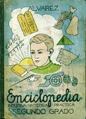 Enciclopedia Álvarez, uno de los libros a memorizar. Fuente: Google