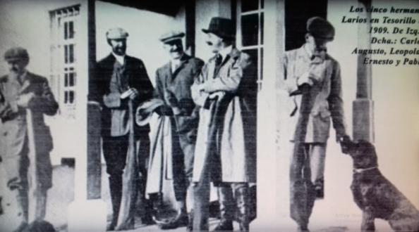 Los hermanos Larios que hasta 1928 ueron los dueños de gra