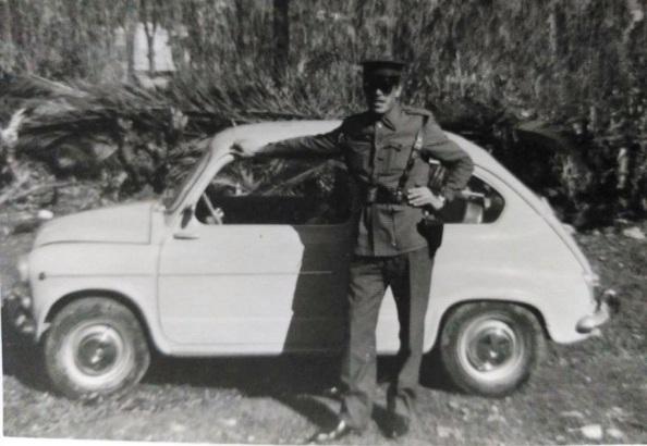 """El guardia civil de Tesorillo que posiblemente recibiría la denuncia del robo de la moto del paisano. Fuente: """"Quiero a Tesorillo""""."""