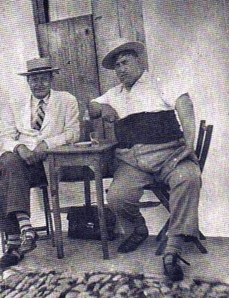 Manuel Lastres Abente y Carlos Corbacho. Fuente: ediciones OBA.