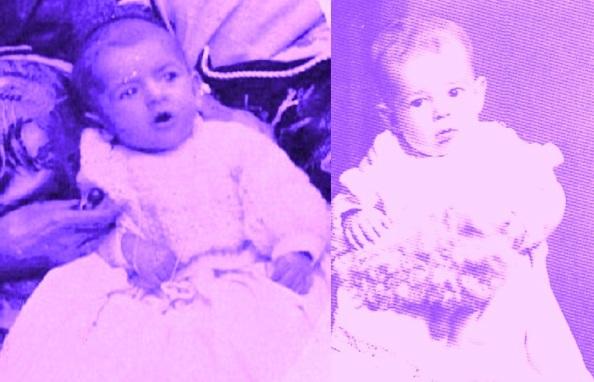 En foto casi de recién nacidos Jose Maria, el gran amigo con el que recorrimos la vida hasta que tuve que marcharme de Jimena por motivos de estudios y luego de trabajo, a mi derecha. Fuente propia y de Maria Troncoso.