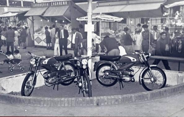 Lugar de la feria de Tesorillo donde el paisano dejó la moto. Fuente: Portal de Facebook: