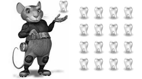 El otro cuento que nos narraban. El ratoncito Pérez que cuando se nos caís un diente lo poníamos debajo de la almohada y amanecíamos con un regelo monetario. Fuente: Google.