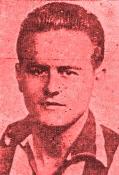Pepe Tapia, el delantero centro del Algeciras CF. Fuente: Algecirismo 1909