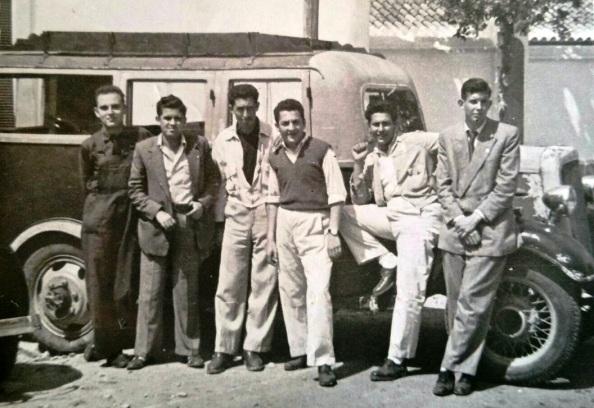 Año 1960. El taxis de