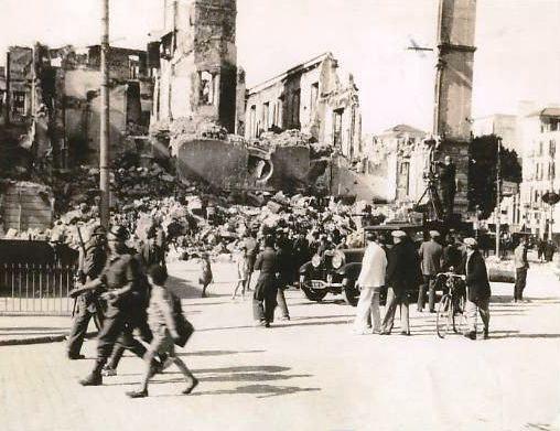 málaga febrero de 1937