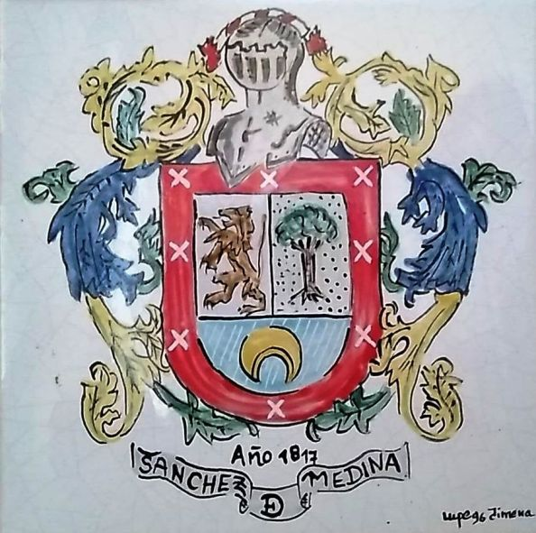 escudo sánchez de medina