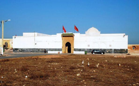 Sale mausoleo al jimenato Ahmed Ben Aschir