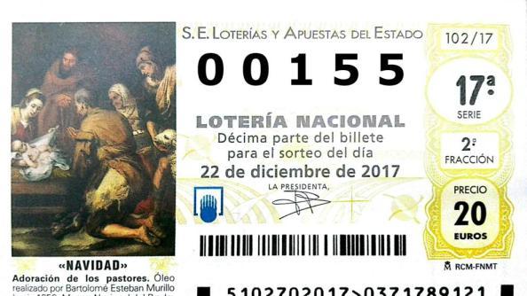 155 lotería nacional