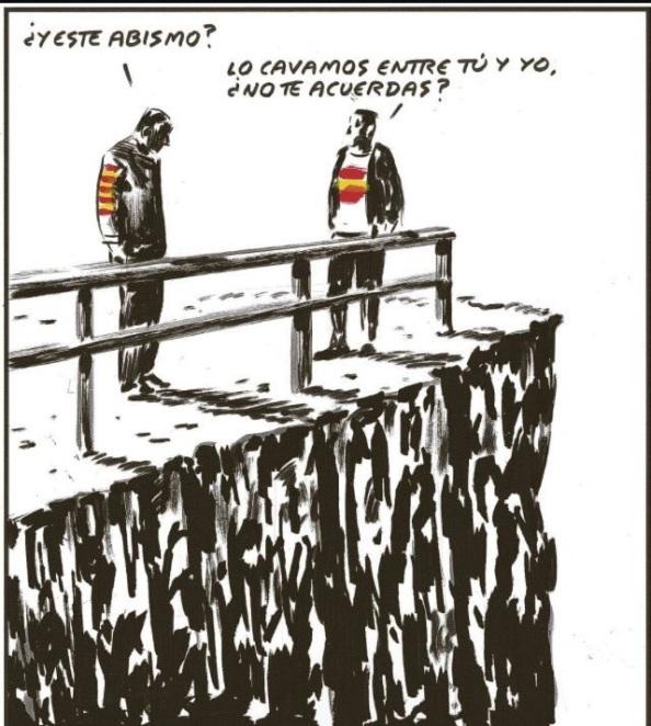 El Roto Cat El foso.