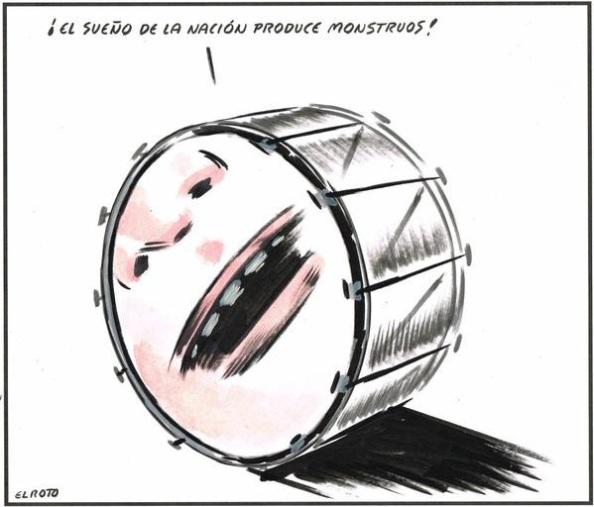 El Roto Nación Cataluña Monstruos