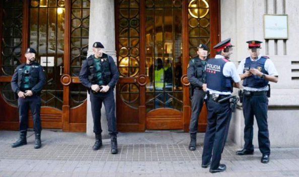 mossos de esquadra y guardia civil