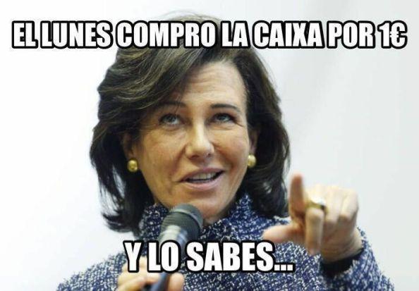 Patricia Botín Caixa