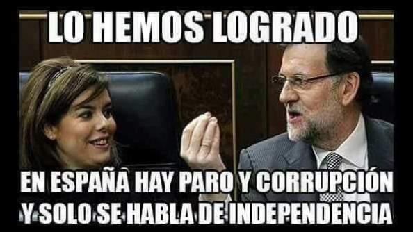 Rajoy paro y corrupción