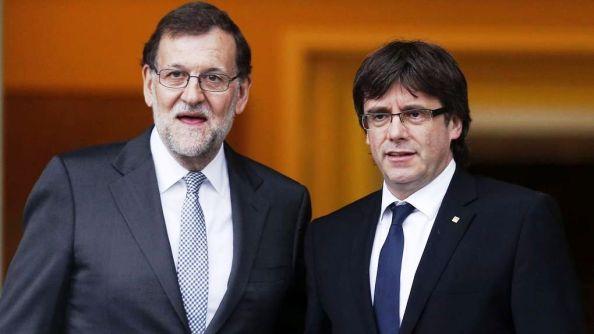 Rajoy Puigdemont Moncloa