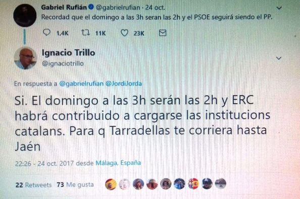 Rufián tuit 1