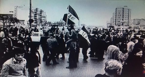 4 de diciembre 1977 puente de tetuán cola mani