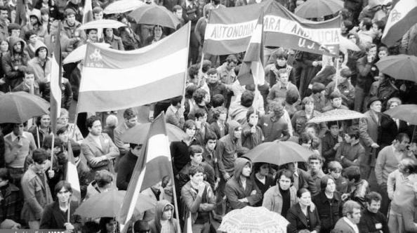 4 de diciembre final de la manifestación puente américaDiario Sur