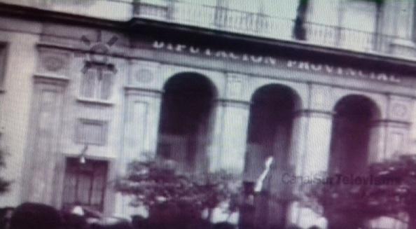 edificio diputación manifestación 4 de diciembre