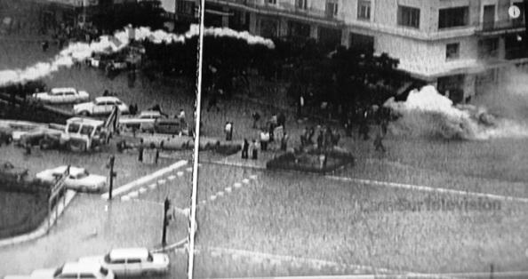 glorieta de larios 4 de diciembre 1977 cargas policiales