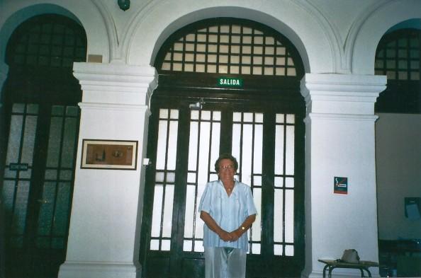 Ángeles Vázquez León el hospital de Alicante (3)