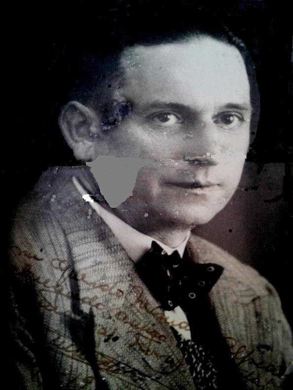 Guillermo Ortega Durán Mayo 1919 negro