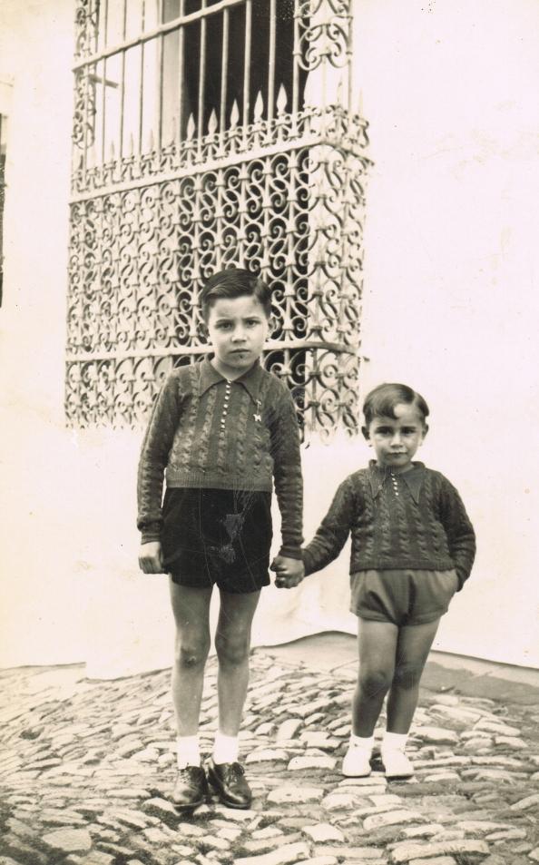 Guillermo y Alfredo Ortega Terrones 1935
