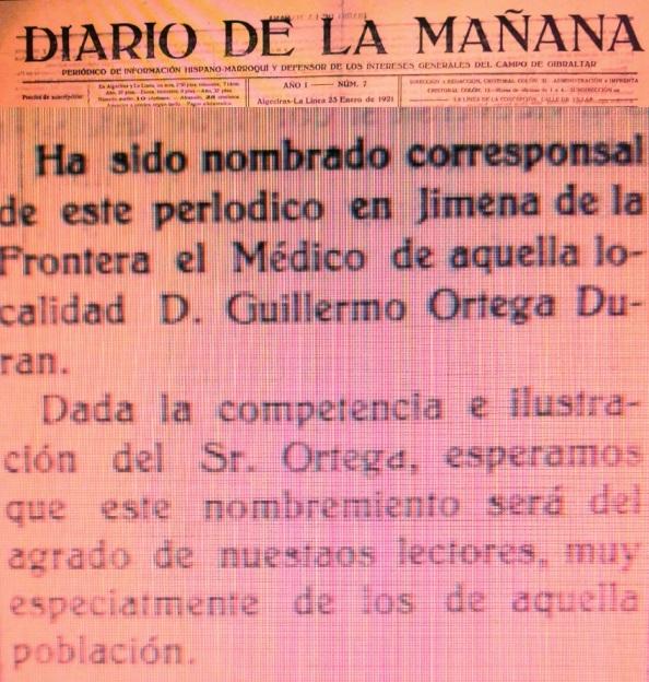 Ortega Durán Diario de la Mañana naranja