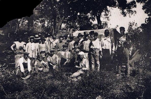 corcheros jimenatos principios siglo XX