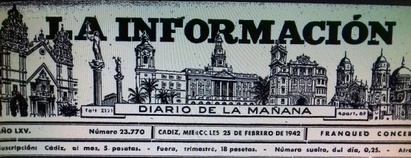 información cádiz 25.02.1942