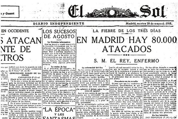 diario El Sol martes 28 de mayo 1918.