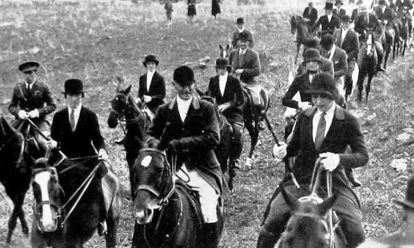 1920s Calpe Hunt capitán muslera hijo del gob algeciras
